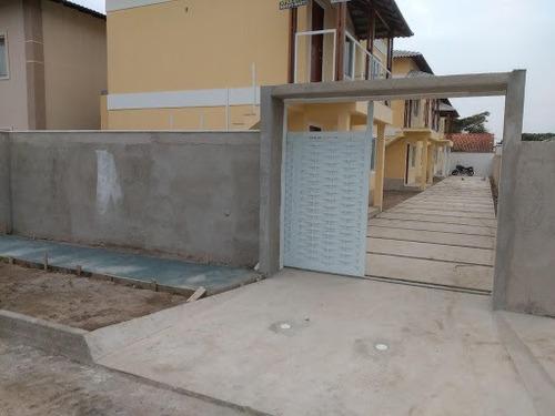 Casa Com 2 Dormitórios À Venda, 56 M² - Jardim Atlântico Leste - Maricá/rj - Ca3919