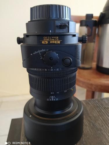Lente Micro Nikkor Pc-e 85 Mm F/ 1:2.8d Nikon