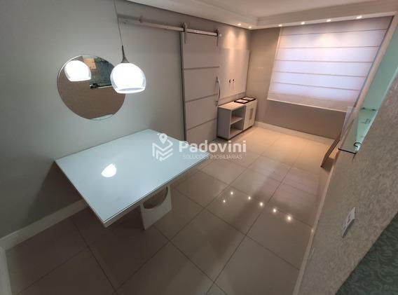 Apartamento Para Aluguel, 2 Quartos, 1 Vaga, Jardim Contorno - Bauru/sp - 197