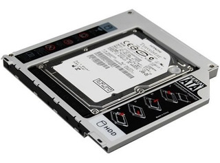 Caddy Sata A Sata Macbook Pro 13 15 17 2° Disco Superdrive