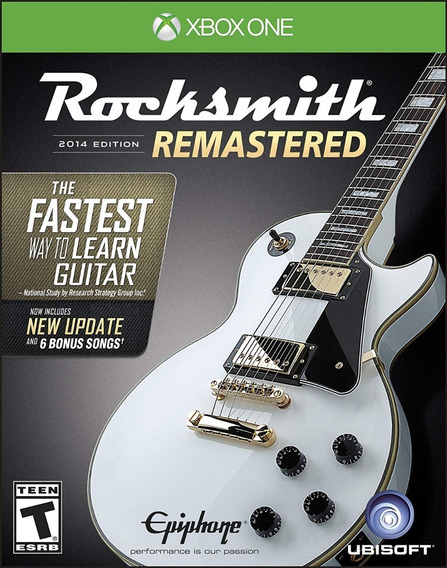 Rocksmith 2014 Edition Remastered Somente Jogo - Xbox One