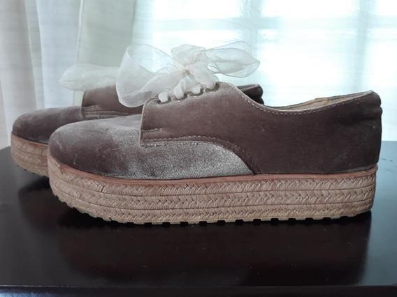 Zapato Cerrado Con Plataforma