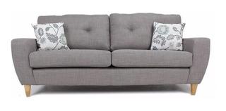 Sillon Sofa Modelo Retro Vintage 2 Cuerpos Arkana