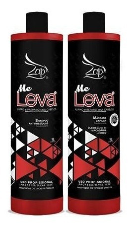 Zap Progressiva Me Leva - Lançamento - Nova All Time 2x1l