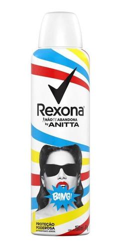 Desodorante Antitranspirante Rexona Bang By Anitta 150ml