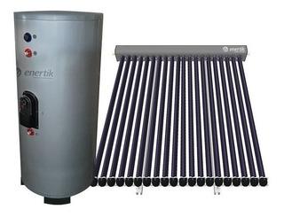 Sistema De Calefacción Solar 100m2 Heat Pipe - Enertik