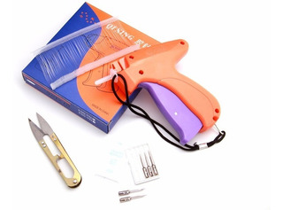 Pistola Etiquetadora + 1000 Precintos 5 Cm + Tijera + Agujas