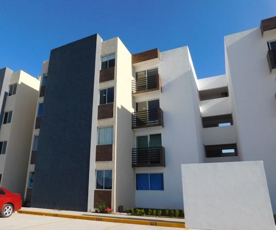 Departamento En Renta En Villa De Pozos En Planta Baja