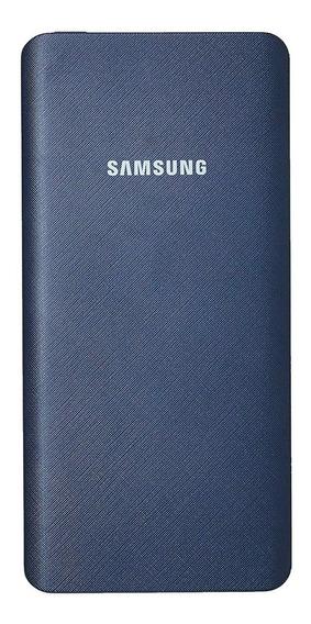 Carregador Portátil 5000mah Samsung Azul Marinho