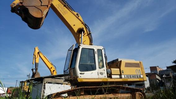 Escavadeira De Esteira Liebherr 942 Ano 2012