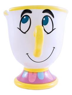 Disney Bella Y Bestia Taza De Ceramica Original Chip 591ml