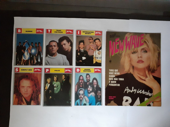 Revista Bizz Especial New Wave E 6 Fichas Do Rock Bizz
