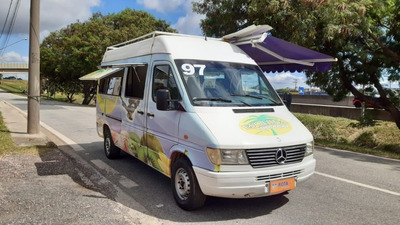 Mercedes-benz Sprinter 1997 Furgão Food Truck Açaí