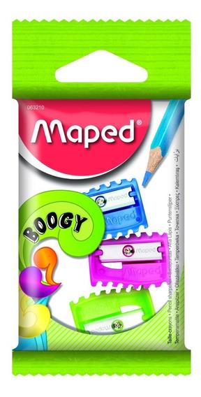 Sacapuntas Maped Plastico Boogy 1 Orificio X3 Unidades