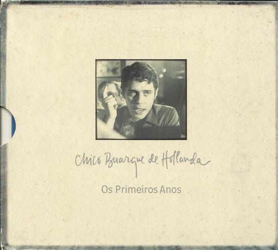 Cd Chico Buarque Box Os Primeiros Anos (03 Cds)