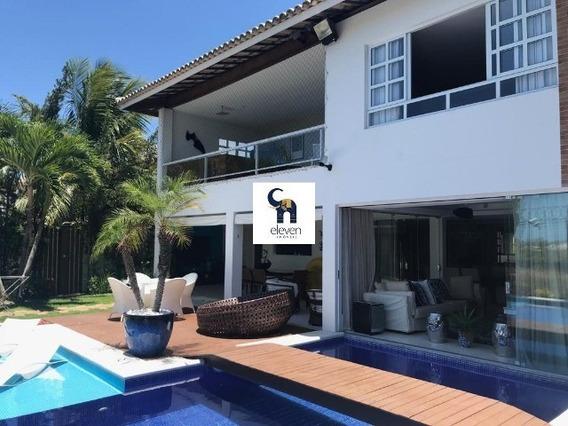 Eleven Imóveis, Belíssima Casa Duplex No Condomínio Quatro Rodas Golf Residencial - Ca00564 - 34424671