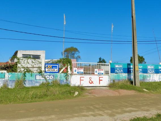 Alquilo Gran Local Con Galpon Y Terreno Ruta Inter
