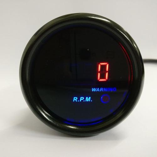 Tacometro Digital Para Auto Medidor De Rpm Universal 12v