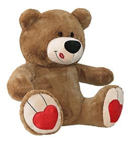 Urso Ursinho Pelúcia Beijinho 80cm