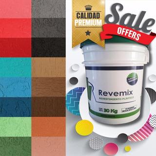 Revestimiento Plástico Texturado Revemix Ac855 X 30kg