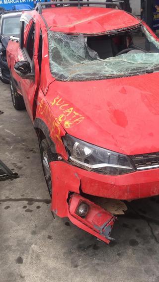 Volkswagen Saveiro Kit Airbag Motor Caixa De Cambio Sucata