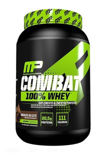 Combat 100% Whey Protein Mp 900g Muscle Pharm Full