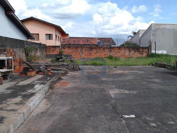 Terreno Comercial À Venda, Parque Universitário De Viracopos, Campinas. - Te0016