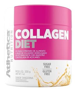 Collagen Diet 200g Tangerina - Atlhetica Nutrition