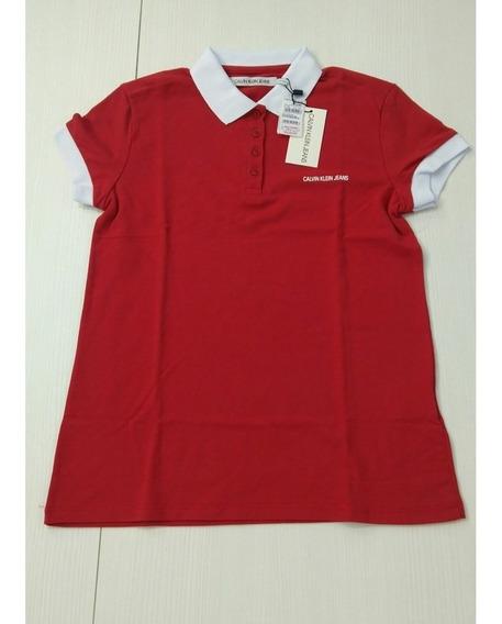 Camisa Polo Feminino Calvin Klein Original
