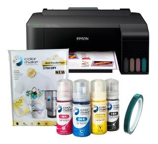 Impresora Epson L1110 Para Sublimación Tintas Papel A4 Cinta