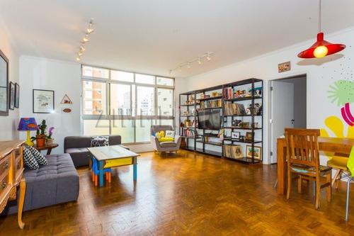 Imagem 1 de 15 de Apartamento - Pacaembu - Ref: 117408 - V-117408