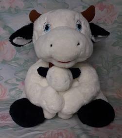 Vaca Com Filhote - Grande - 55cm - Maritel