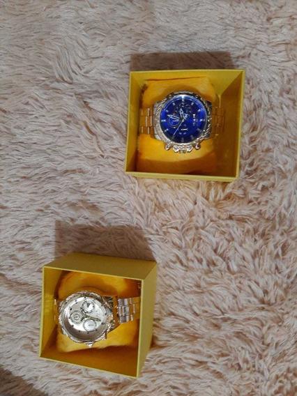 Relógio Invicta Promoção Pague 1 Leve 2 + Caixa Frete Grátis