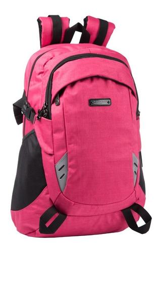Mochila Escolar Trekking Reforzada Quaglia Mujer Qs312