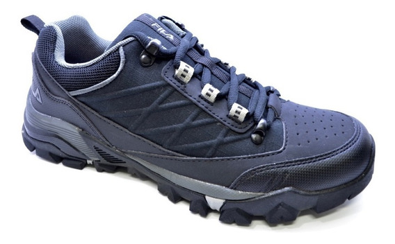 Zapatillas Fila Outdoor Breaker Negro Abc Deportes