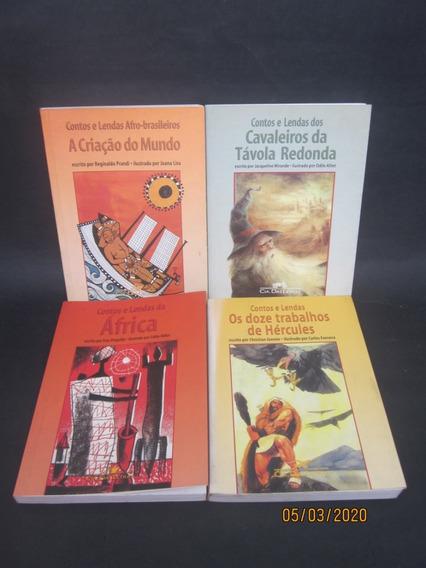 6 Livros Coleção Contos E Lendas