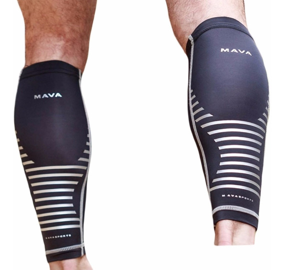 Leg Compression Socks Calf Sleeves Para Runners Corredor Med