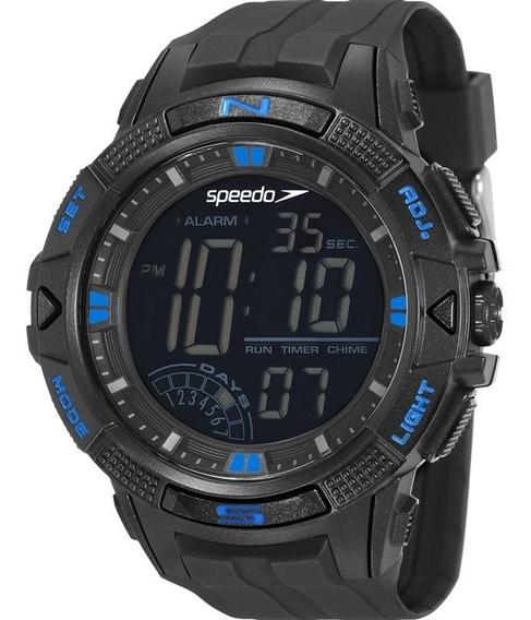 Relógio Speedo 11003g0evnp2 Digital Preto Azul Pulso