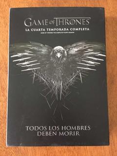 Juego De Tronos Serie Game Of Thrones Original 4ta Temporada