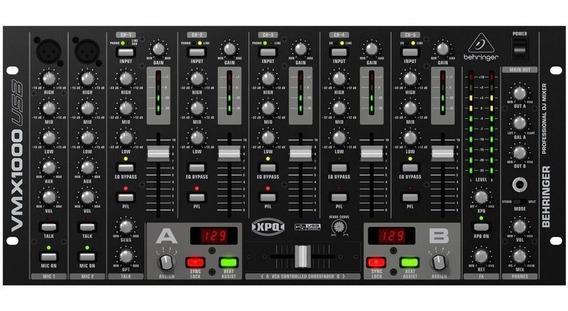 Mixer Dj Vmx1000usb 110v - Behringer + Nf + Garantia