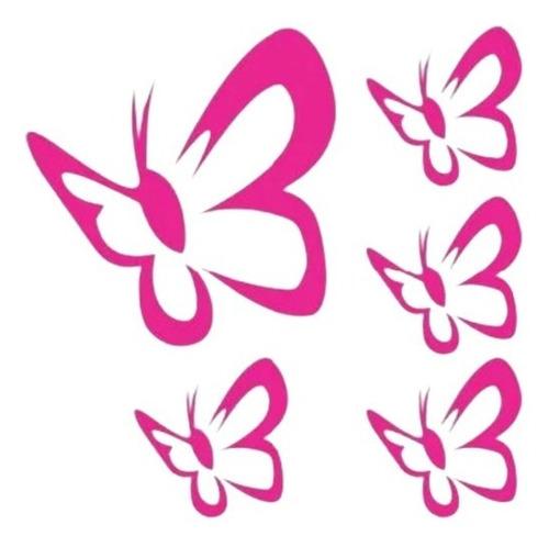 Imagem 1 de 4 de Adesivos Decorativos Paredes 58 Borboletas