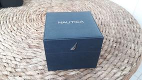 Caixa Do Relógio Nautica, Sem Manual. 100% Original.