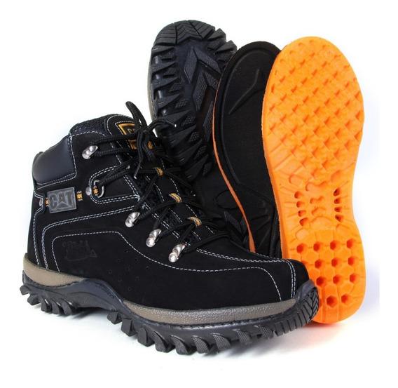 Caterpillar Boots Jeep Original Com Palmilha Gel Confort