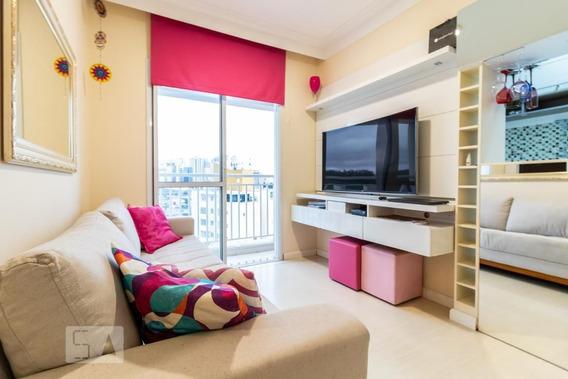 Apartamento No 10º Andar Mobiliado Com 2 Dormitórios E 1 Garagem - Id: 892948868 - 248868