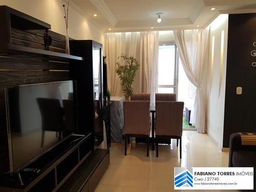 Imagem 1 de 10 de Apartamento Para Venda Em São Bernardo Do Campo, Planalto, 3 Dormitórios, 1 Suíte, 1 Banheiro, 1 Vaga - L75_2-1187200