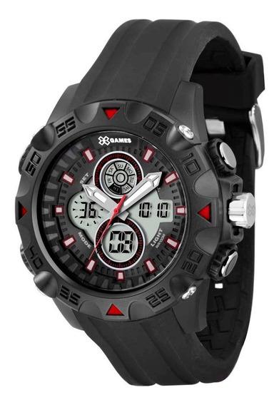 Relógio X-games Masculino Anadigi Xmppa153 Bxpx Preto