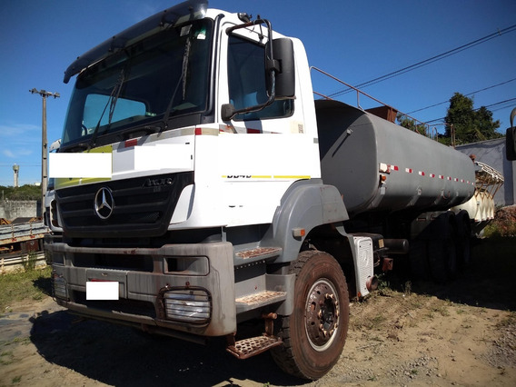 Mb Axor 3340 6x4 Ano 2008/2009 Pipa Tanque 20 Mil Litros