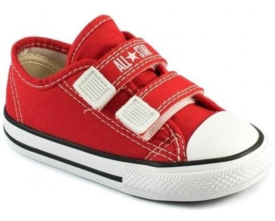 Tênis All Star Velcro Converse Kids Vermelho Ck0508-original