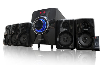 Sistema Home Theater Panacom 5.1 Bluetooth Sd Usb 6000w M62