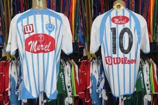 Paysandú 2005 Camisa Titular Tamanho G Número 10.